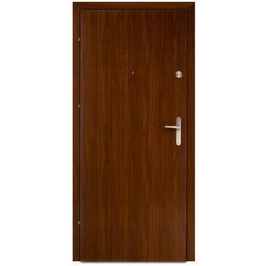 Drzwi wejściowe PRESTON Orzech 80 Lewe DOMIDOR