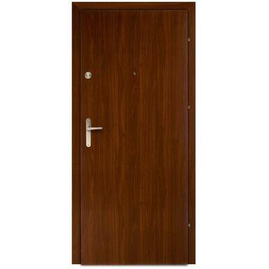 Drzwi wejściowe PRESTON Orzech 80 Prawe DOMIDOR