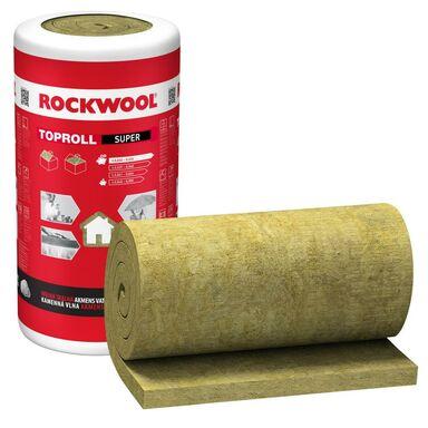 Wełna mineralna skalna TOPROLL SUPER 100 mm ROCKWOOL