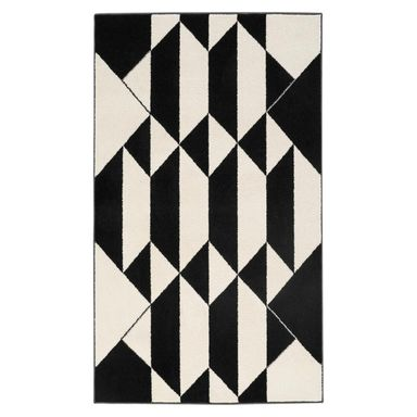 Dywan KEN Czarny 80 x 150 cm wys. runa 9 mm AGNELLA
