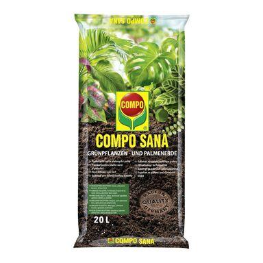 Podłoże do roślin zielonych i palm 20 l COMPO SANA