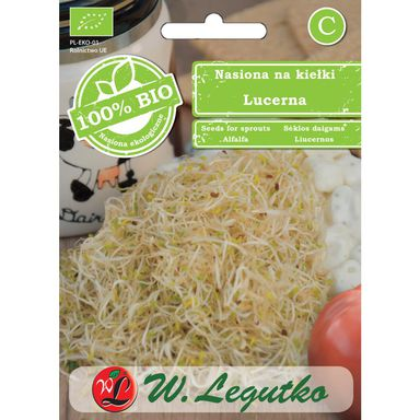 Lucerna BIO nasiona ekologiczne 20 g W. LEGUTKO