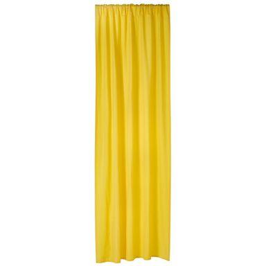 Zasłona Elema żółta 140 x 280 cm na taśmie Inspire