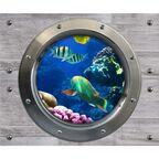 Obraz szklany WALL RYBKI 2 el. 25 x 60 cm = 50 x 60 cm CERAMIKA COLOR