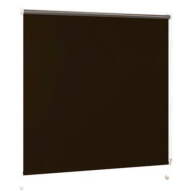 Roleta zaciemniająca BLACKOUT 48 x 160 cm brązowa INSPIRE