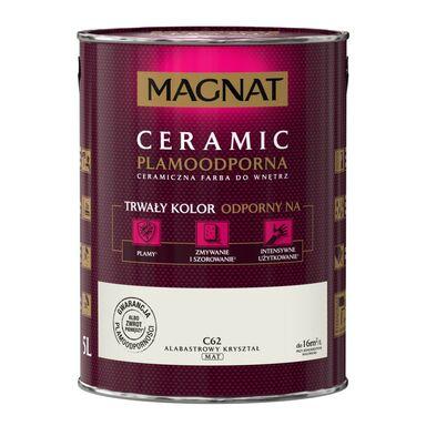 Farba wewnętrzna CERAMIC 5 l Alabastrowy kryształ MAGNAT