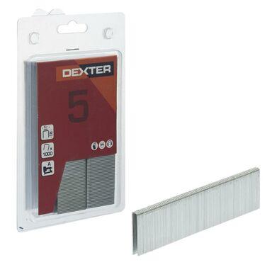 Zszywki TYP90 1000 szt. 5.7 x 30 mm DEXTER