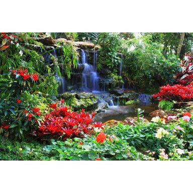 Fototapeta Wodospad w dżungli 104 x 70 cm