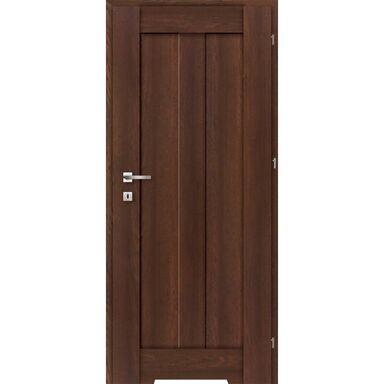 Skrzydło drzwiowe z podcięciem wentylacyjnym Rosa Dąb palony 80 Prawe Classen