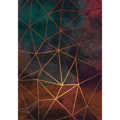 Kanwa ZŁOTE LINIE 70 x 100  cm