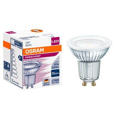 Żarówka LED GU10 (230 V) 4.3 W 350 lm Ciepła biel OSRAM