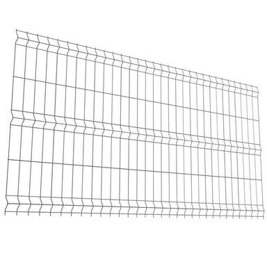 Panel ogrodzeniowy 3D 123 x 250 cm antracytowy POLARGOS