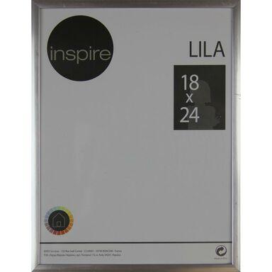 Ramka na zdjęcia LILA 18 x 24 cm srebrna INSPIRE