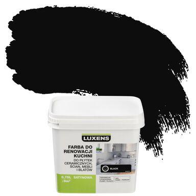 Farba renowacyjna DO KUCHNI 0.75 l Black LUXENS