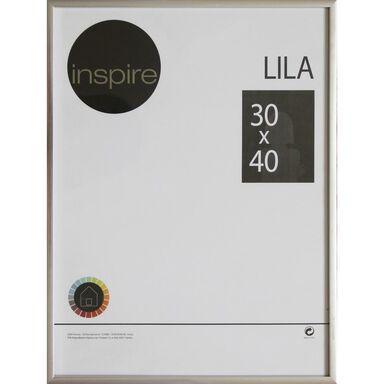 Ramka na zdjęcia LILA 30 x 40 cm srebrna INSPIRE
