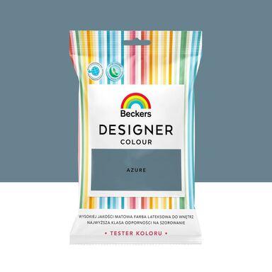 Tester farby Designer Colour 50 ml Azure Beckers
