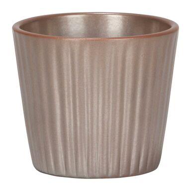 Osłonka ceramiczna 9 cm brązowa 937/09 SCHEURICH