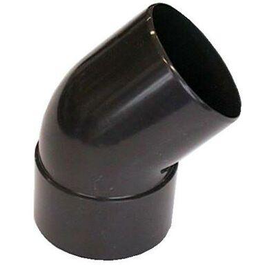 Kolanko rynnowe 100 mm/45° Brązowe SCALA PLASTICS