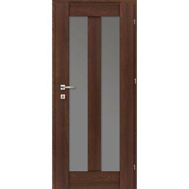 Skrzydło drzwiowe pokojowe ROSA Dąb palony 80 Prawe CLASSEN