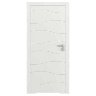 Skrzydło drzwiowe bezprzylgowe VECTOR X Białe 90 Lewe PORTA