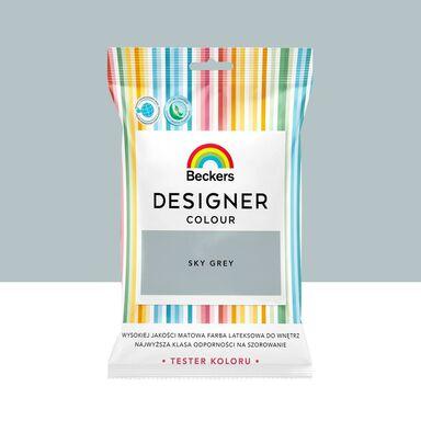 Tester farby Designer Colour 50 ml Sky grey Beckers