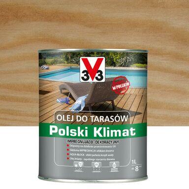 Olej do tarasów Polski Klimat 1 l bezbarwny V33