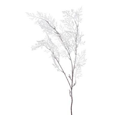 Gałązka ośnieżona 87 cm biała