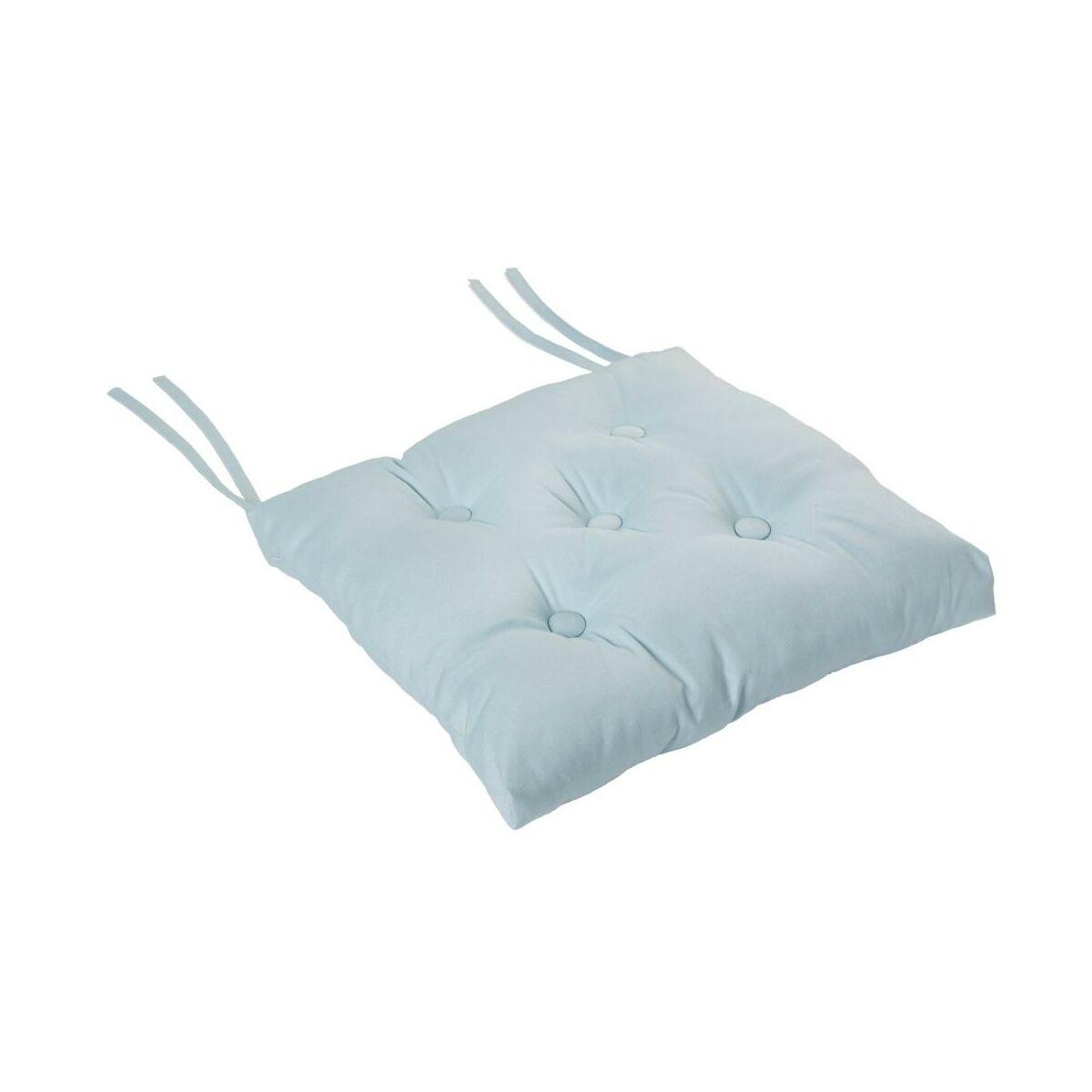Poduszka Na Krzeslo Elema Blekitna 40 X 40 X 8 Cm Inspire Siedziska I Zaglowki W Atrakcyjnej Cenie W Sklepach Leroy Merlin