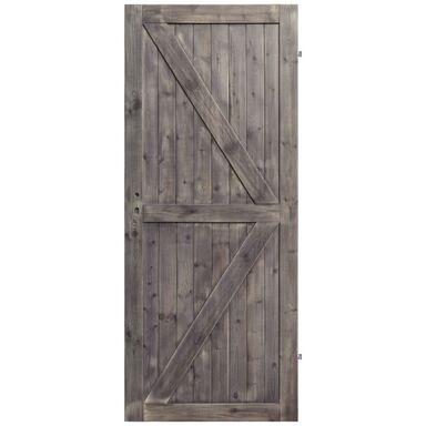 Skrzydło drzwiowe drewniane LOFT II 80 Prawe RADEX
