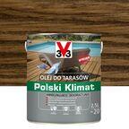 Olej do tarasów Polski Klimat 2.5 l palisander V33