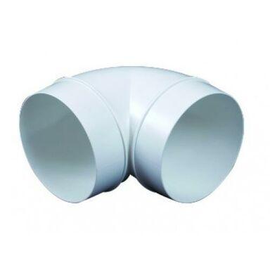 Kolanko kanału wentylacyjnego okrągłego OKRĄGŁE 90° 100 mm EQUATION