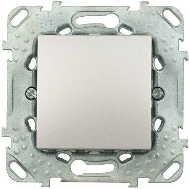 Przycisk DZWONEK UNICA  Srebrny aluminowy  SCHNEIDER