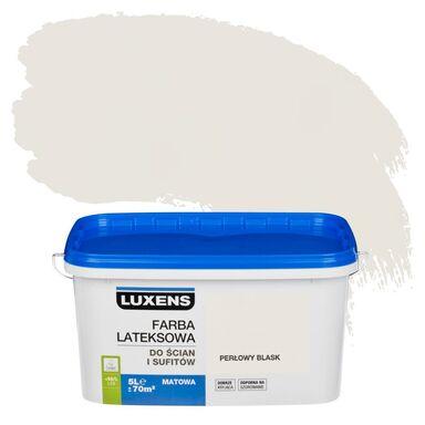 Farba wewnętrzna EMULSJA 5 l Perłowy blask LUXENS