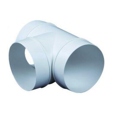 Trójnik kanału wentylacyjnego okrągłego OKRĄGŁY 90° 100 mm EQUATION