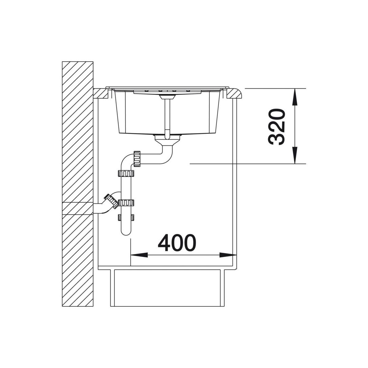 zlewozmywak lexa 45 s 86 cm blanco sprawd opinie w leroy merlin. Black Bedroom Furniture Sets. Home Design Ideas