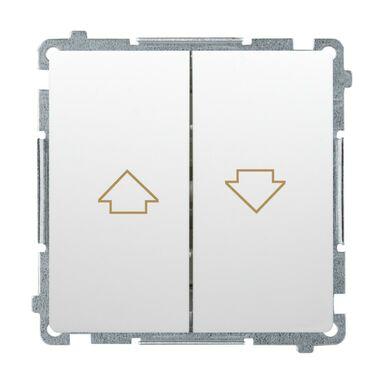 Włącznik żaluzjowy BASIC  Biały  SIMON
