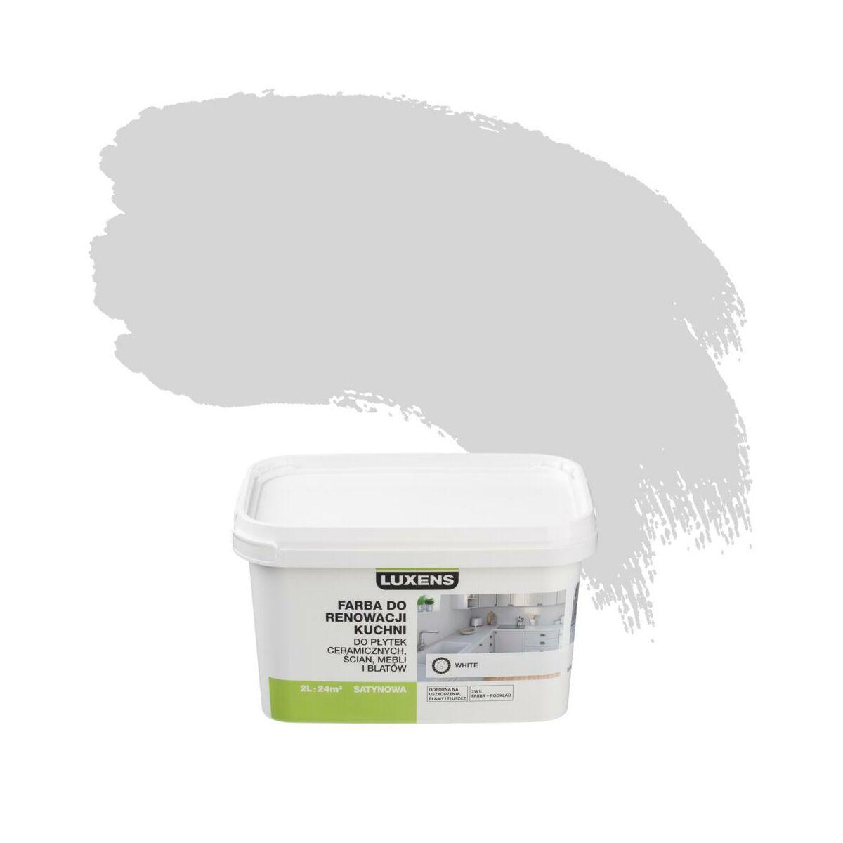 Farba Renowacyjna Do Kuchni 2 L White Luxens