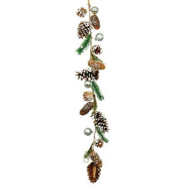 Girlanda z szyszek i gałązek 80 cm