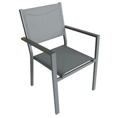 Krzesło ogrodowe Lisbon antracytowe