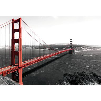 Fototapeta GOLDEN GATE BRIDGE 70.5 x 104 cm