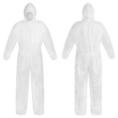 Kombinezon ochronny r. XL biały 40 g/m2
