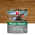 Olej do tarasów Polski Klimat 2.5 l dąb V33