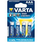 Baterie LR03 / AAA HIGH ENERGY VARTA