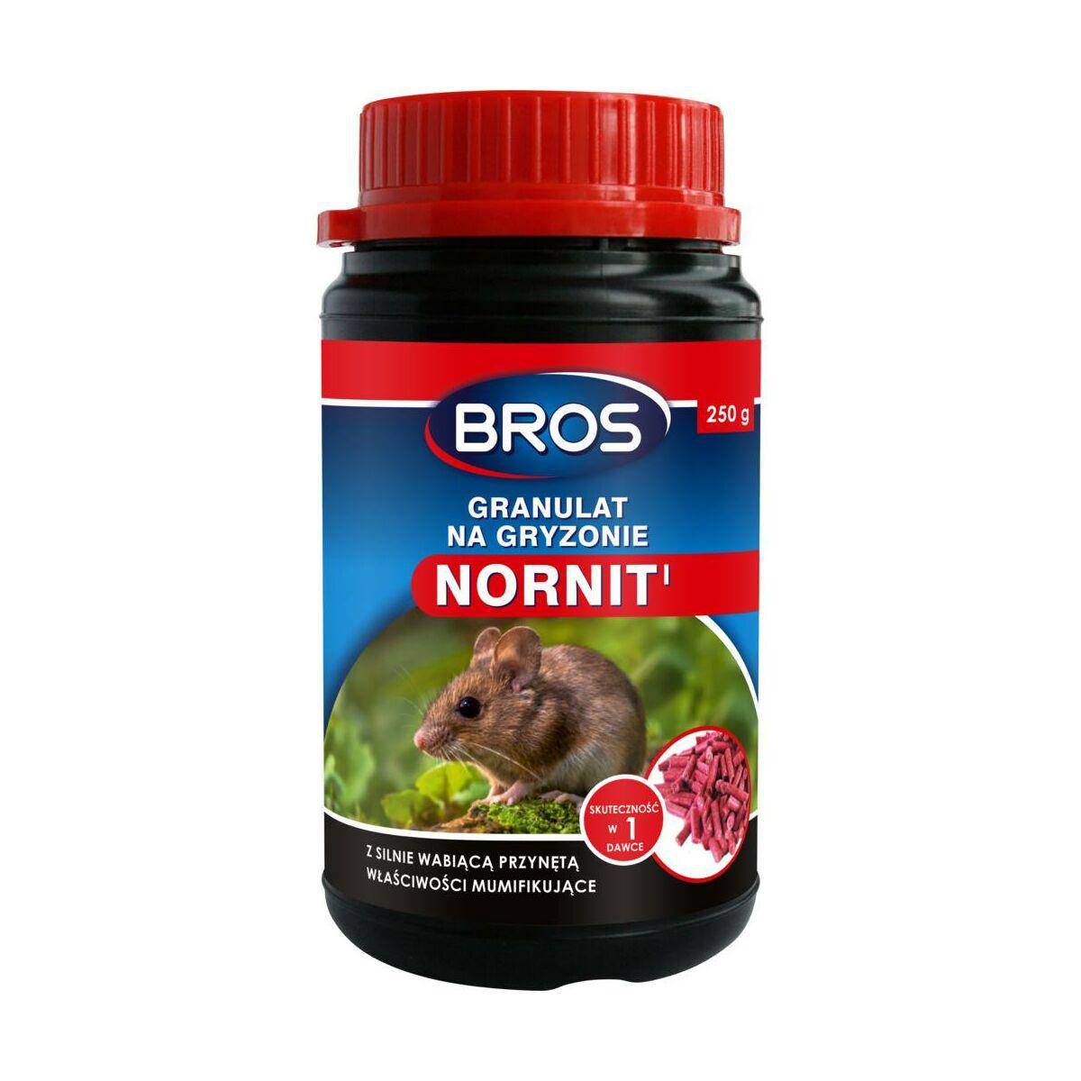 Granulat na gryzonie 250 g NORNIT BROS