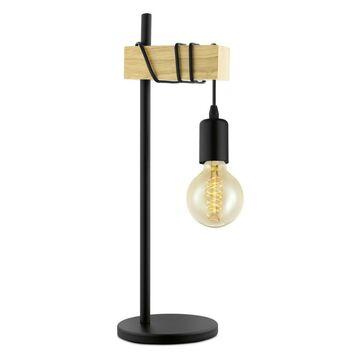 Lampa stołowa TOWNSHEND czarna E27 EGLO