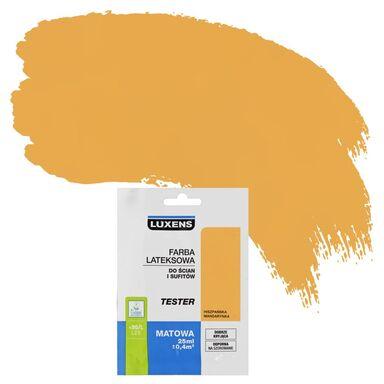 Tester farby DO ŚCIAN I SUFITÓW 25 ml Hiszpańska mandarynka LUXENS