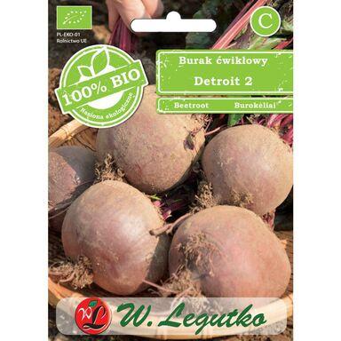 Nasiona warzyw DETROIT BIO Burak ćwikłowy W. LEGUTKO