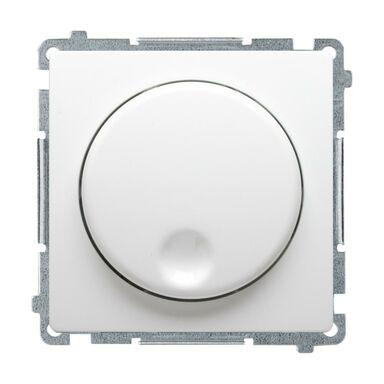 Ściemniacz obrotowy BASIC  biały  KONTAKT SIMON