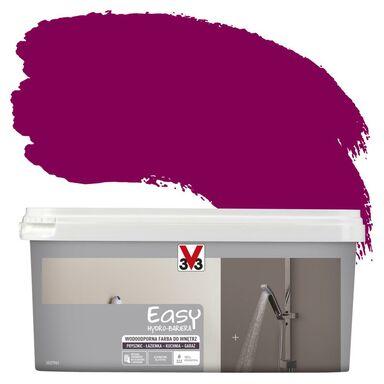 Farba wodoodporna EASY HYDRO-BARIERA 2 l Amarantowy Satyna V33