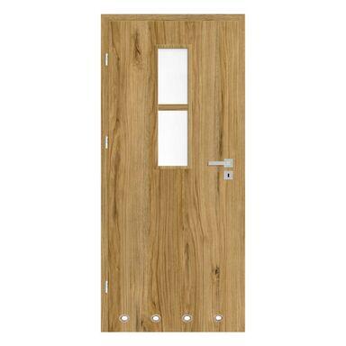 Skrzydło drzwiowe z tulejami wentylacyjnymi Mila Dąb catania 60 Lewe Nawadoor